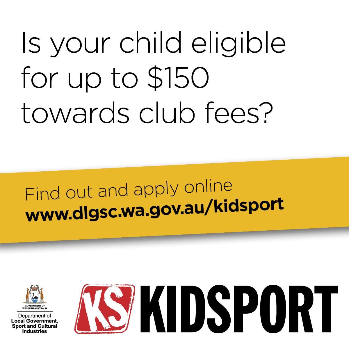 Apply for KidSport